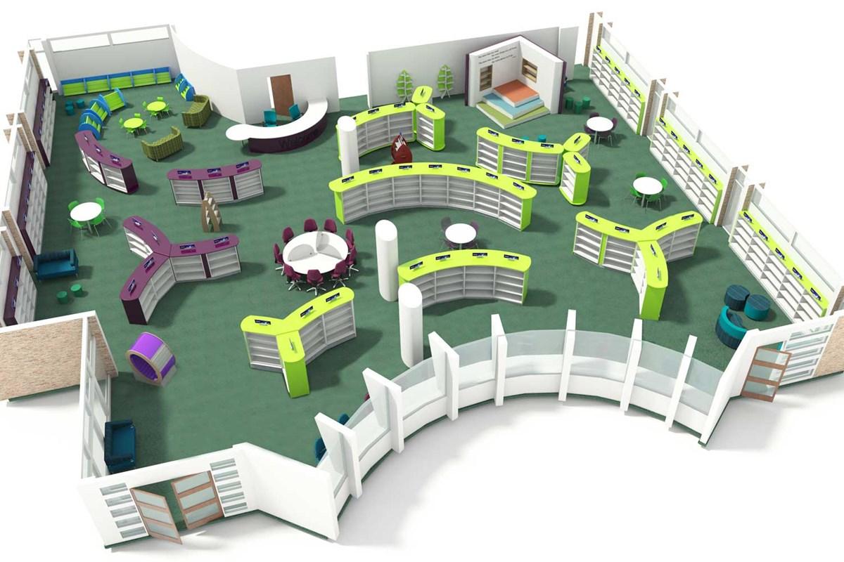 Floor Plan Library Design Floor Plan Ideas