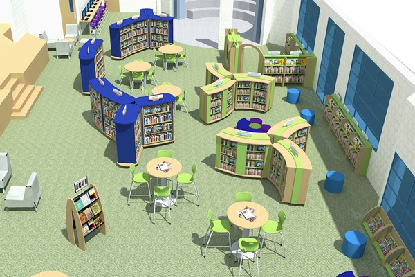 School library 3d design plan. Homepage   Opening the Book North America