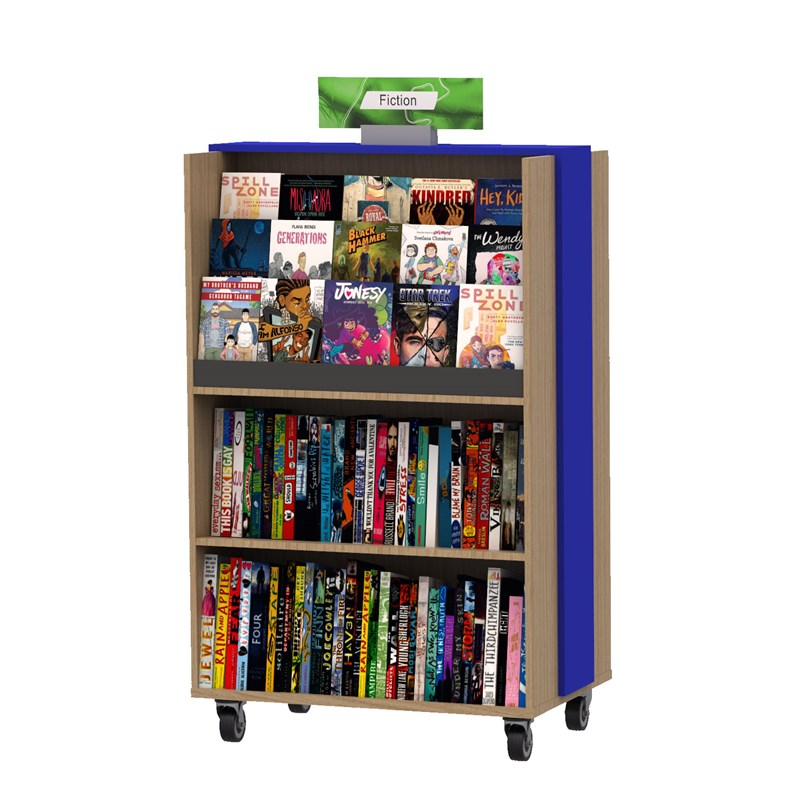 Essential Waterfall Mobile Bookcase
