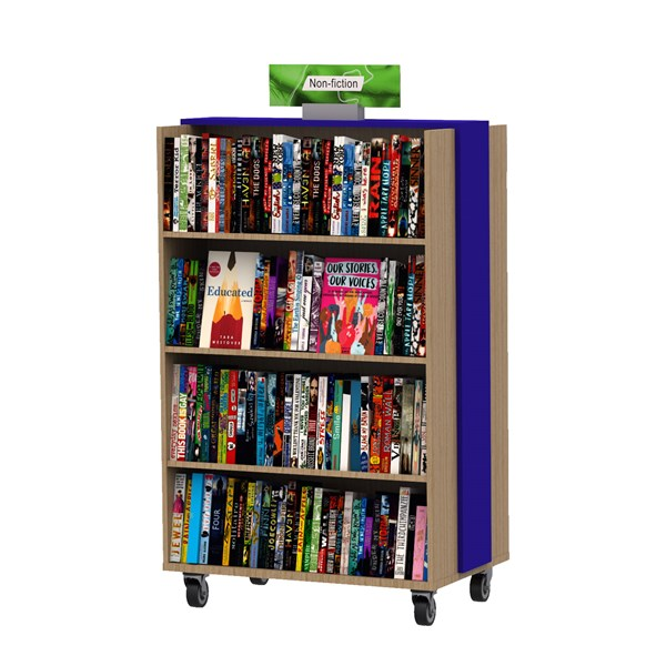 Essential Basic Mobile Bookcase